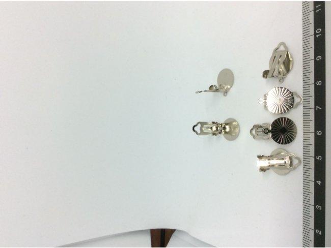 6 σκουλαρίκια με κλίπ - 1