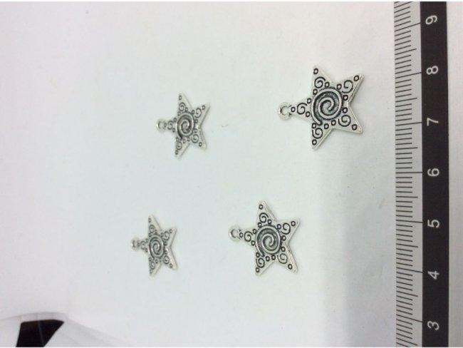 4 μοτίφ αστέρι 22x20χιλσ. - 1