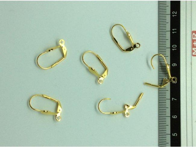 6 αγκίστρια σκουλαρικιών  16χιλσ. - 1
